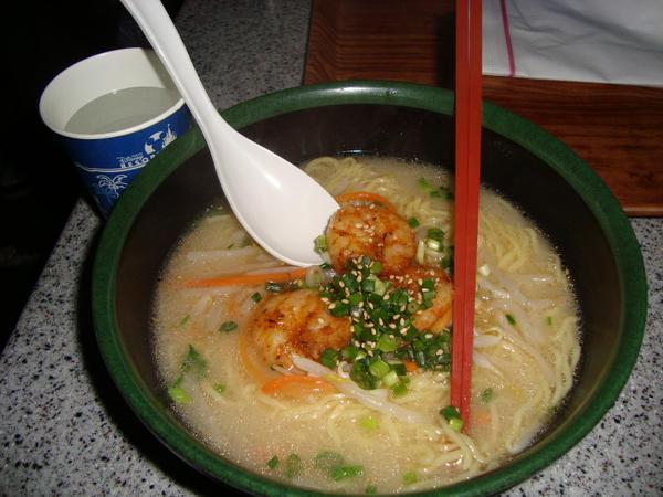 海老入り白湯麺